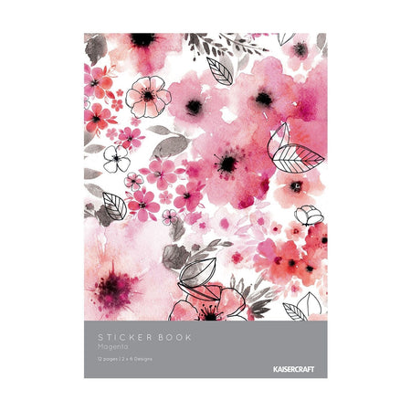 Kaisercraft Magenta - Sticker Book