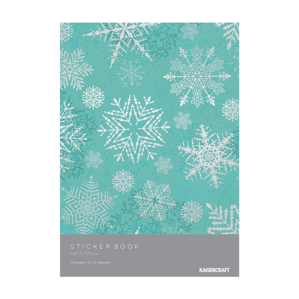 Kaisercraft Let It Snow - Sticker Book