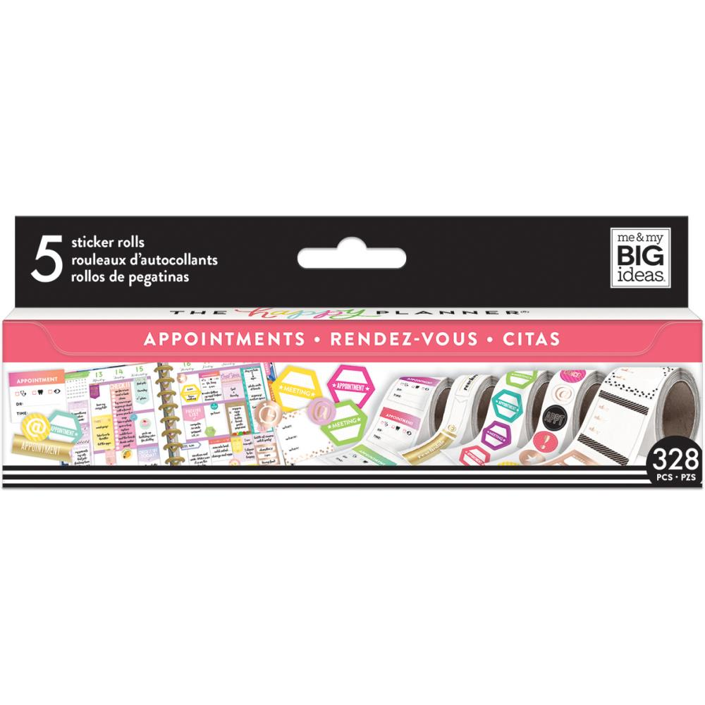 Me & My Big Ideas Happy Planner Sticker Rolls - Appointments