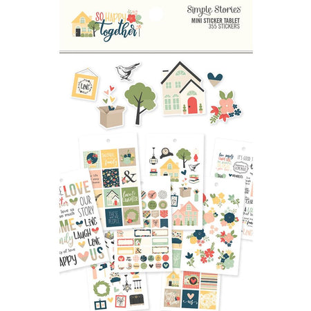 Simple Stories So Happy Together - Mini Sticker Tablet