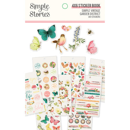 Simple Stories Simple Vintage Garden District - Sticker Book