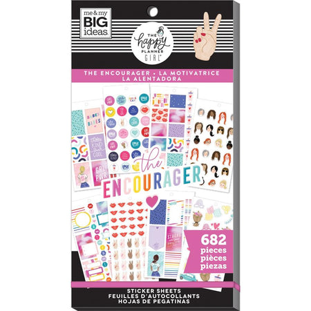 Me & My Big Ideas Happy Planner - Sticker Value Pack Encourager