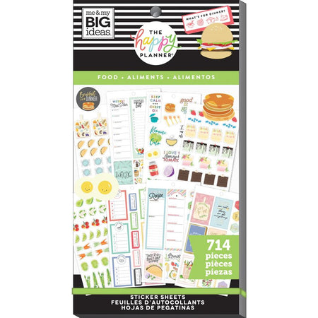 Me & My Big Ideas Happy Planner - Sticker Value Pack Food