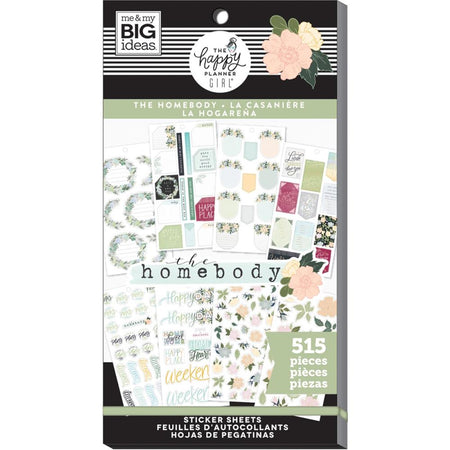 Me & My Big Ideas Happy Planner - Sticker Value Pack The Homebody