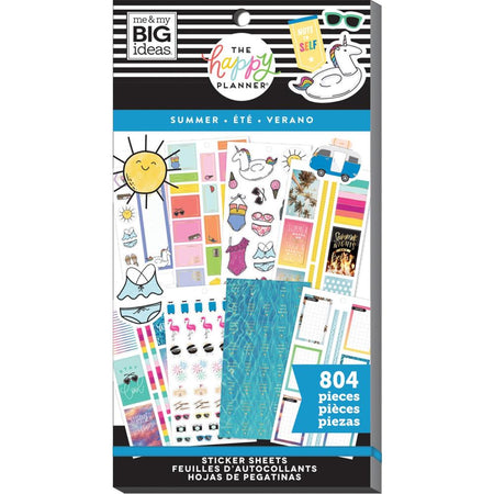 Me & My Big Ideas Happy Planner - Sticker Value Pack Summer