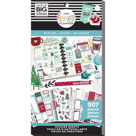 Me & My Big Ideas Happy Planner - Sticker Value Pack Winter