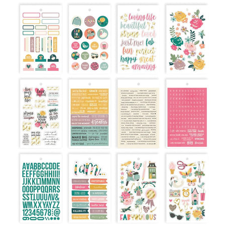 Simple Stories I Am - Sticker Book