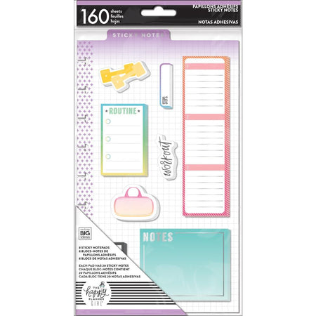 Me & My Big Ideas Happy Planner - Healthy Hero Sticky Notes