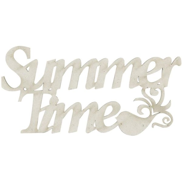 FabScraps Chipboard - Summer Time