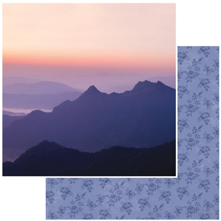 Kaisercraft Misty Mountains - Sunset