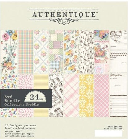 Authentique Swaddle Girl - 6x6 Pad
