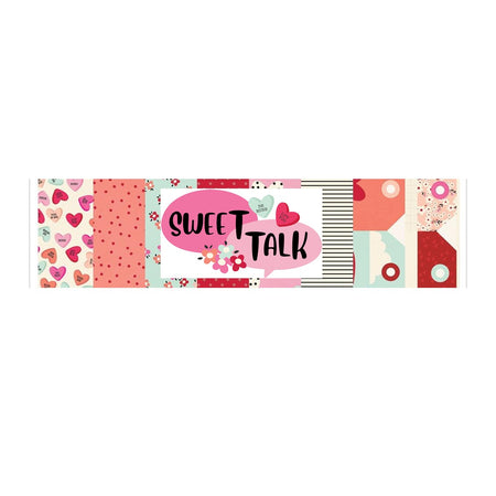 Simple Stories Sweet Talk - Bazzill Plain Matchmaker Pack