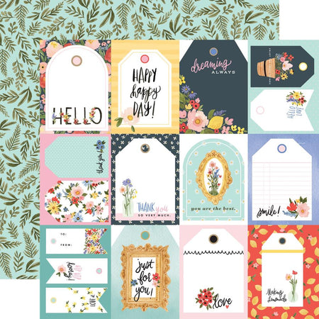 Carta Bella Oh Happy Day - Tags