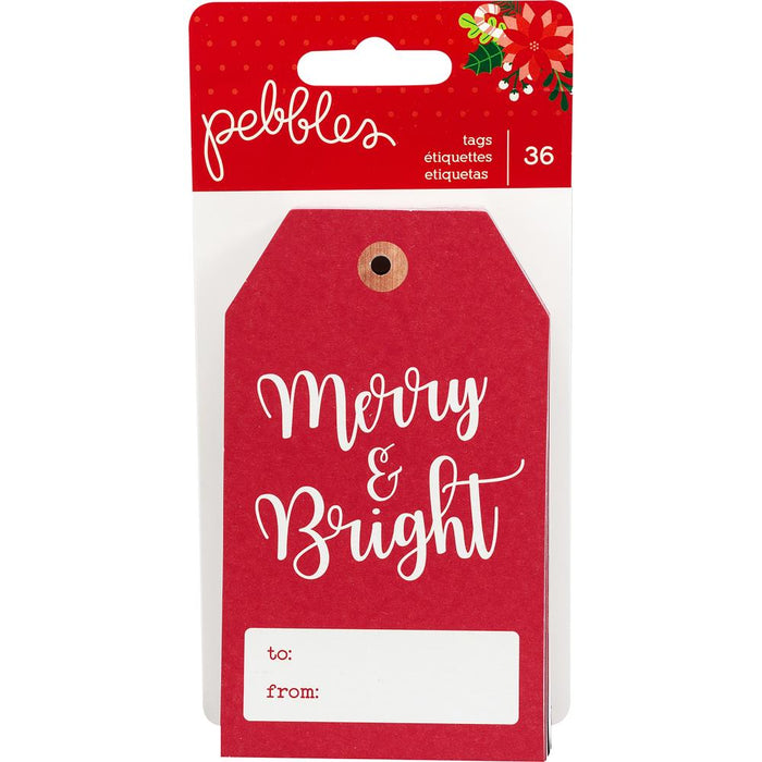 Pebbles Cozy & Bright - Tags