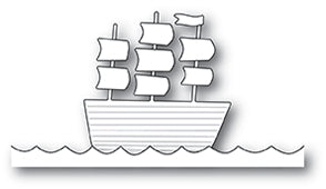 Poppystamps Die - Tall Ship