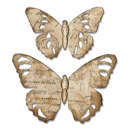 Sizzix Bigz Die - Tim Holtz Alterations Tattered Butterfly