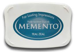Memento Ink Pad - Teal Zeal