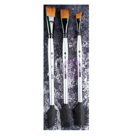 Prima Finnabair Texture Brushes Set 1