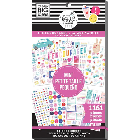 Me & My Big Ideas Happy Planner - Sticker Value Pack The Encourager Mini