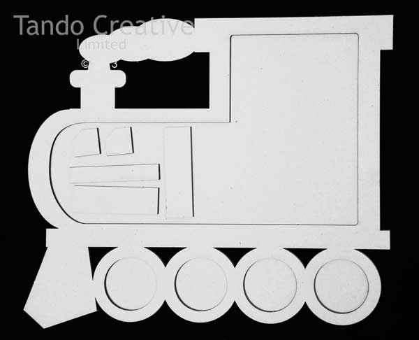 Tando Creative - Train Chalk/Memo Board