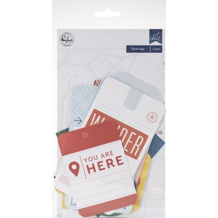 Pinkfresh Studio Out & About - Travel Tags