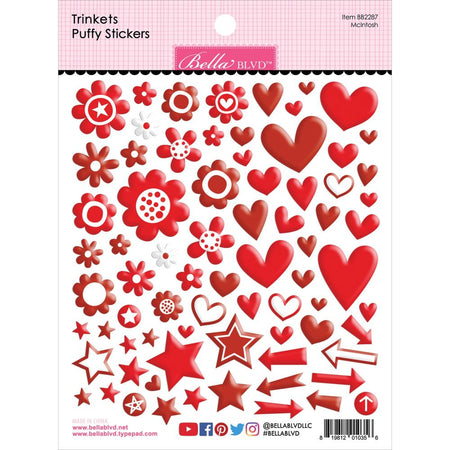 Bella Blvd Trinkets Puffy Stickers - McIntosh