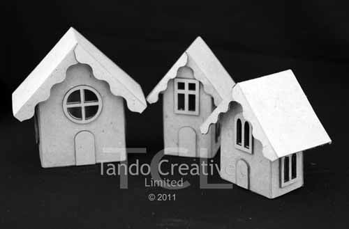 Tando Creative - Mini House Trio with Accessories