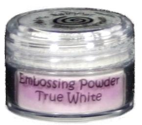 Cosmic Shimmer Embossing Powder - True White