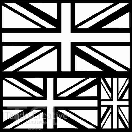 Tando Creative Mask - Union Jacks