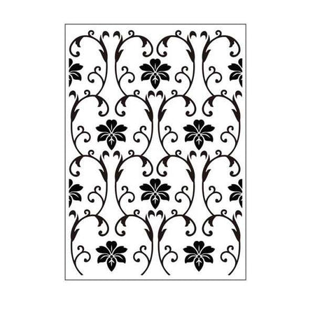 Crafts-Too Embossing Folder - Vintage Flowers