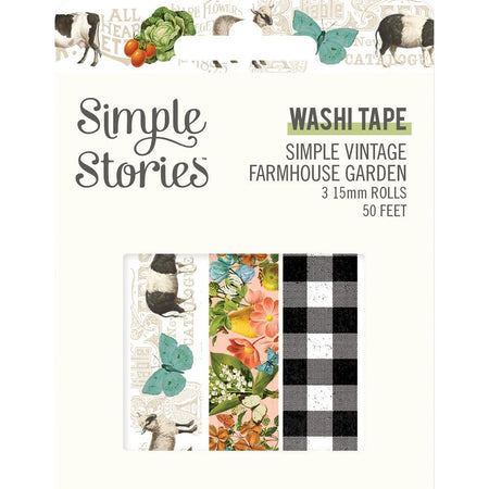 Simple Stories Simple Vintage Farmhouse Garden - Washi Tape