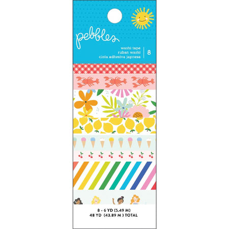 Pebbles Oh Summertime - Washi Tape