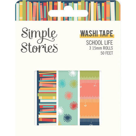 Simple Stories School Life - Washi Tape