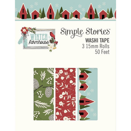 Simple Stories Winter Farmhouse - Washi Tape