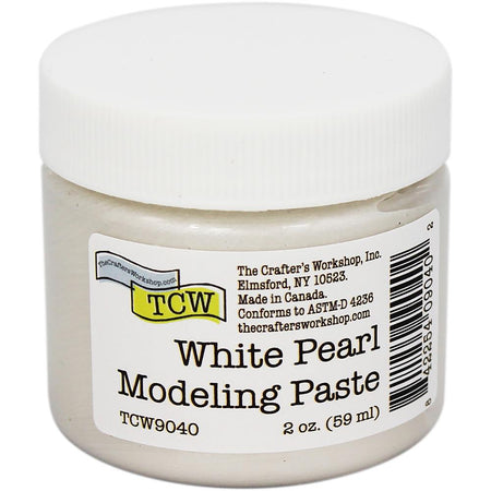 Crafter's Workshop Modeling Paste - White Pearl