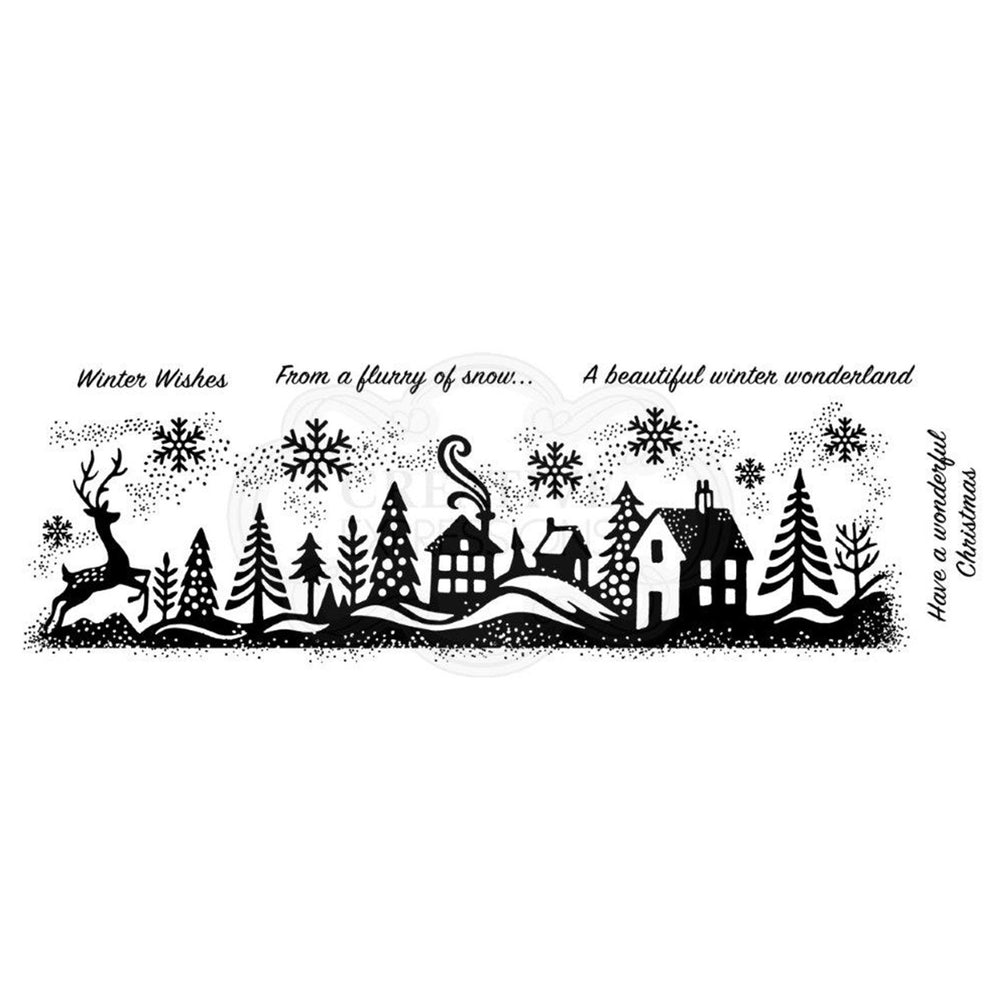 Woodware Clear Magic Singles Stamps - Winter Wonderland