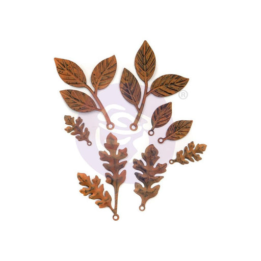 Prima Finnabair Mechanicals Metal Embellishments - Woodland Ferns
