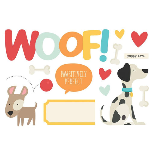Simple Stories Page Pieces - Woof