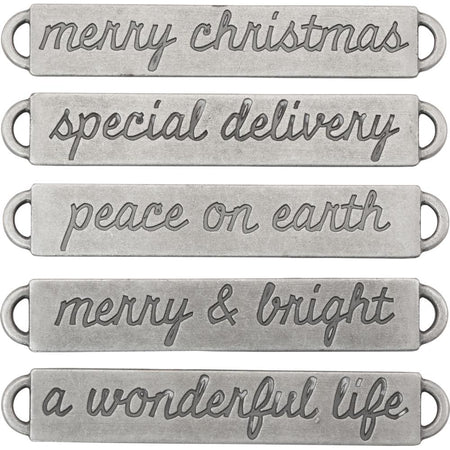 Tim Holtz Idea-ology - Word Bands Christmas