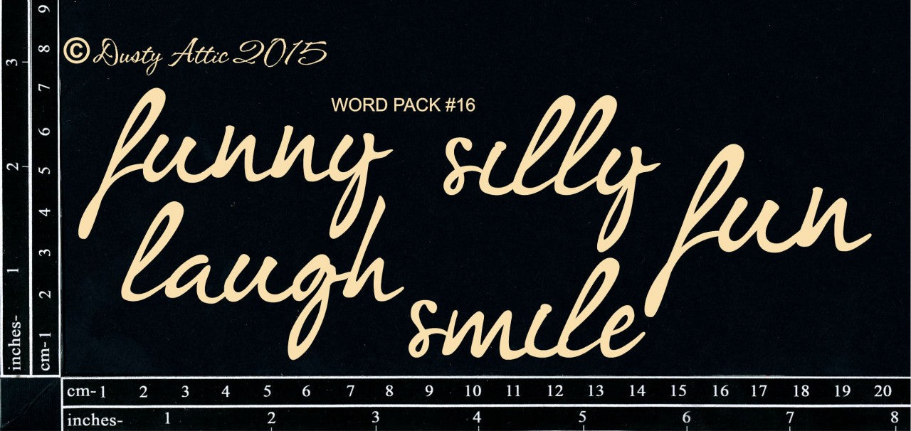 Dusty Attic - Word Pack #16