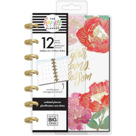 Me & My Big Ideas Happy Planner Mini - Year In Bloom