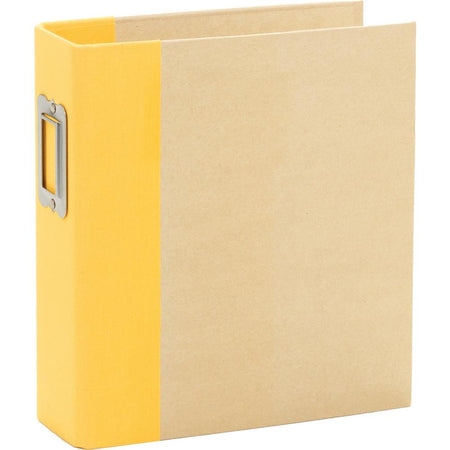 Simple Stories Sn@p 6x8 Binder Album - Yellow