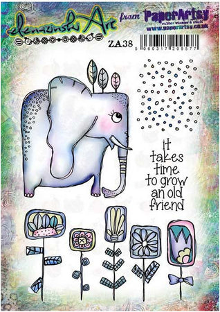 PaperArtsy Stamp Set - Zinski Art 38