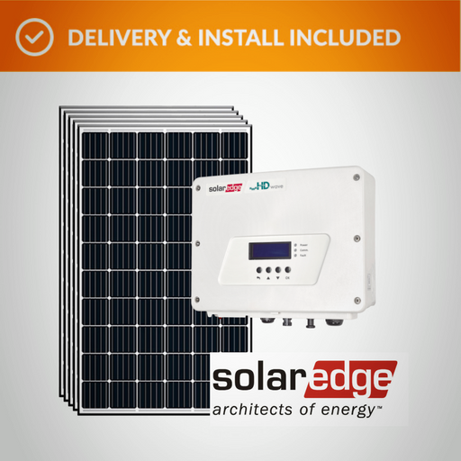 Solar Edge Pack (6.0kW) Complete Solar System