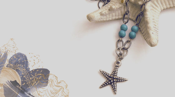 ocean themed necklaces