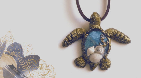 sea turtle themed jewelry