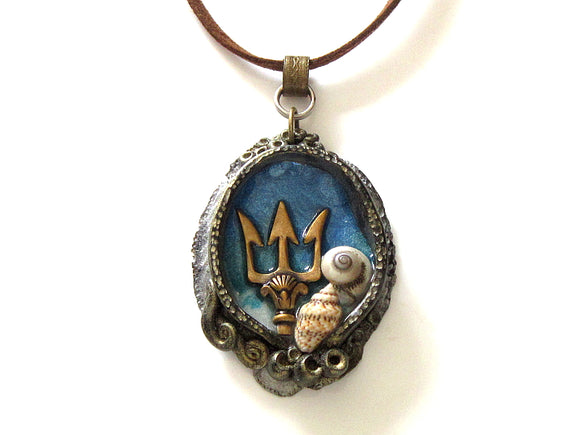 Trident Pendant Necklace