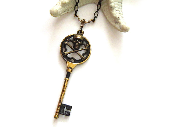 Pirate Key Necklace