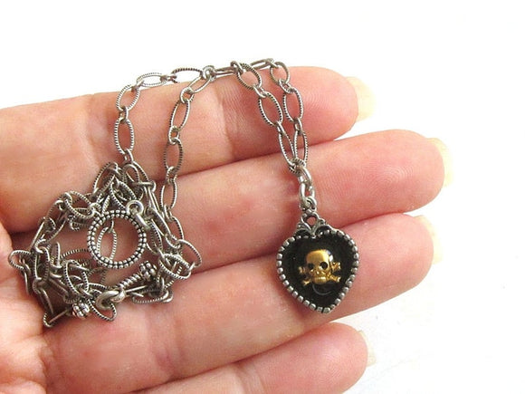dainty pirate necklace