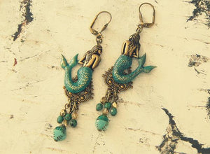 Statement Mermaid Earrings